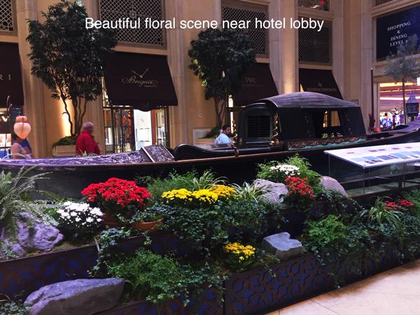 Palazzo Hotel Lobby Gondolas