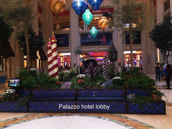 Palazzo Hotel Lobby